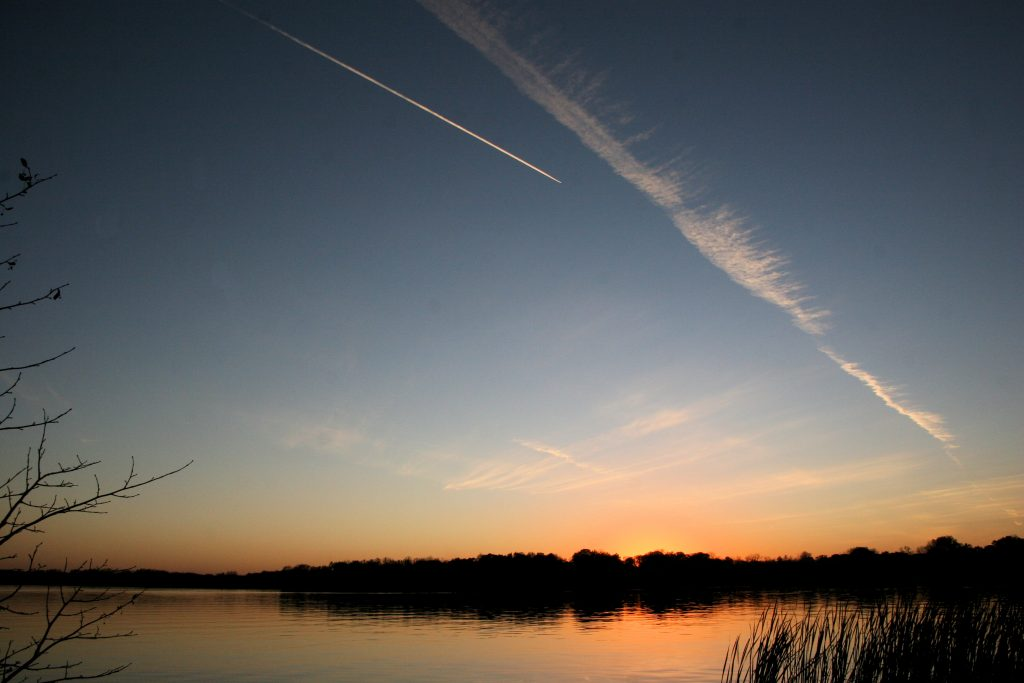 Can Contrails Predict Fishing Success?